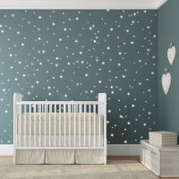 Bedroom Stars Wall Decals | Star wall, Nursery design and ...