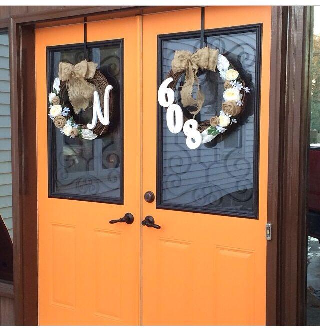 The 25+ best Double door wreaths ideas on Pinterest