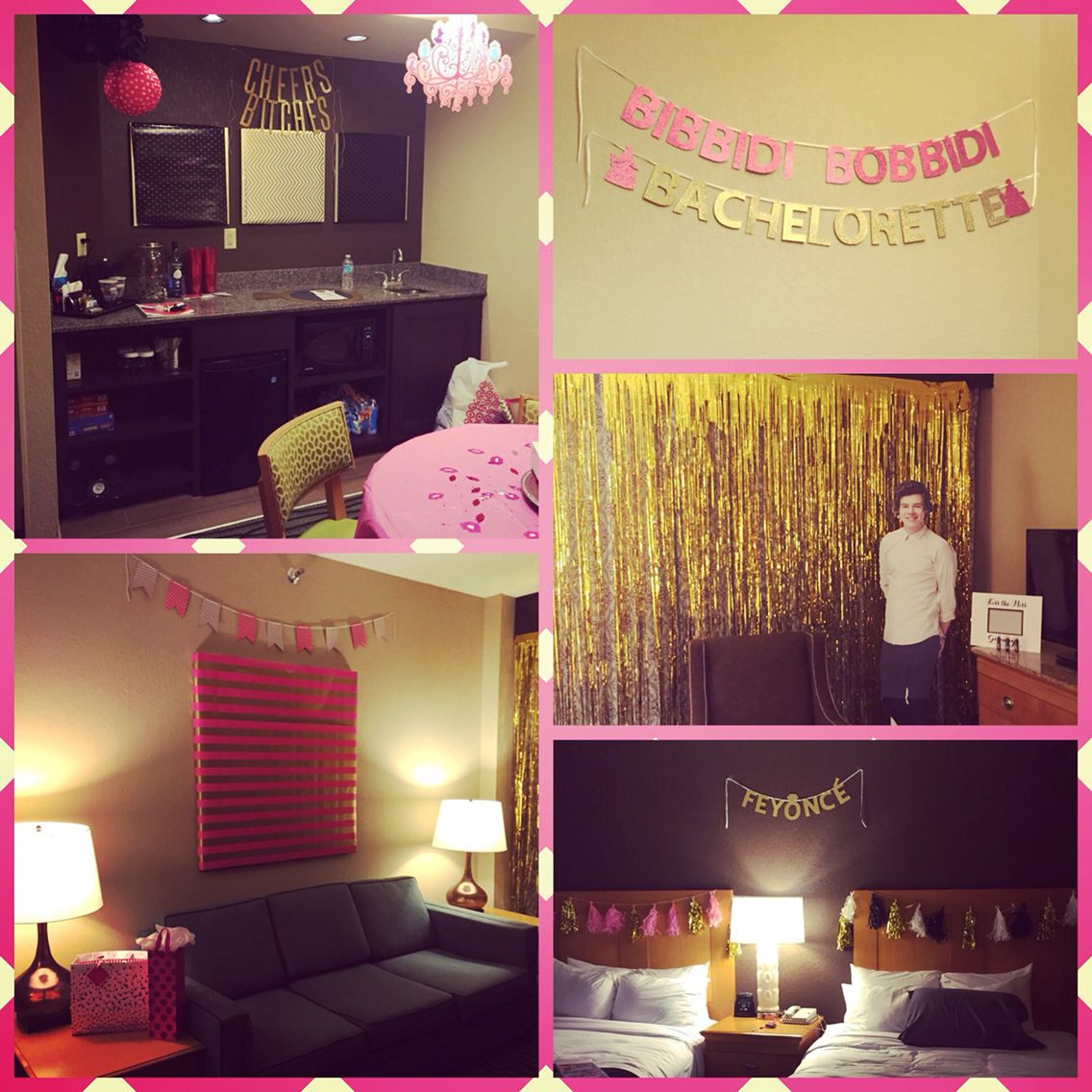 Decoration Hotel Hotel Room Decorated For A Bachelorette Party
