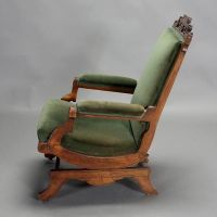 Victorian Platform Rocker | Victorian Platform Rocker with ...