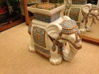 China elephant ornament plant stand Decorative elephant ...