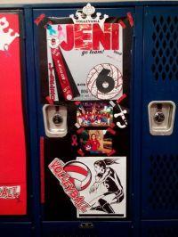 Volleyball locker decoration ideas | Volleyball ...