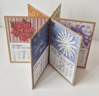 Handmade calendar | Crafty Calendars | Pinterest | Cards ...