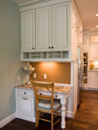 Kitchen Desk Areas on Pinterest | Kitchen Desks, Kitchen ...