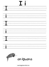 Letter I Worksheets | Alphabet Letter I Worksheets | Rodie ...