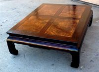Henredon Asian Coffee Table Chinese Ming Dynasty Walnut ...