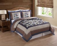 Every Avid Angler will love this fishing themed quilt set ...