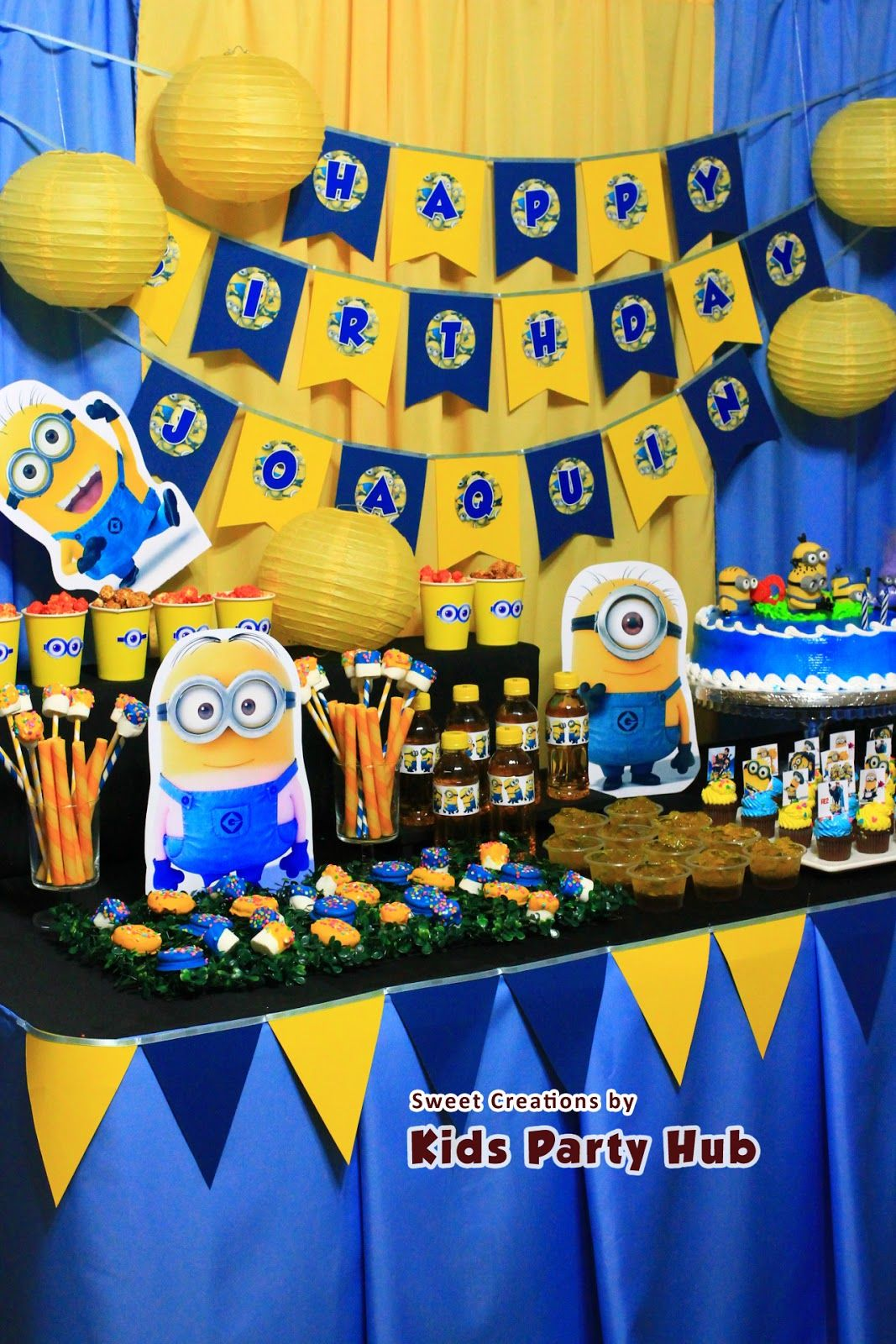 This has been my favorite theme so far i enjoyed a lot making this despicable me minions themed party for joaquin s birthday