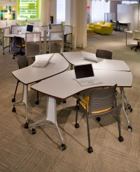 Enlite Tables and Strive Chairs make reconfiguring ...