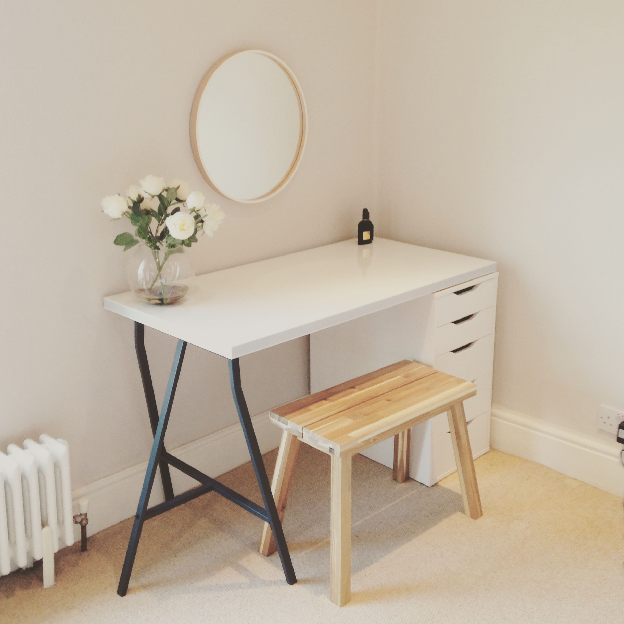 Small Vanity Dressing Table Scandinavian Dressing Table Ikea Home Pinterest