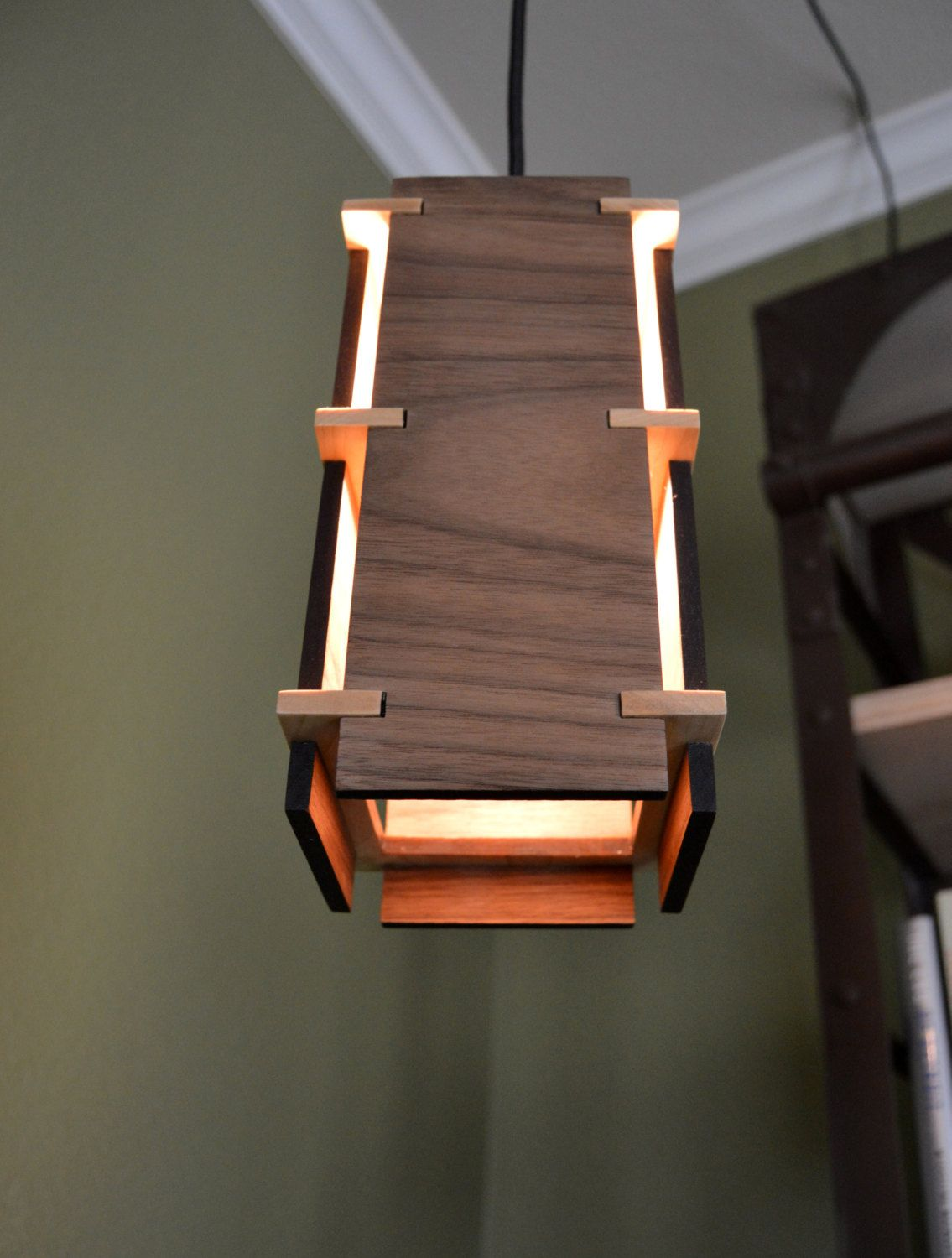 Wooden Light Pendants Square Wooden Pendant Light Pendant Lighting Squares