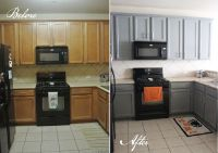 Kitchen Before and After   Kitchens, Black appliances and ...