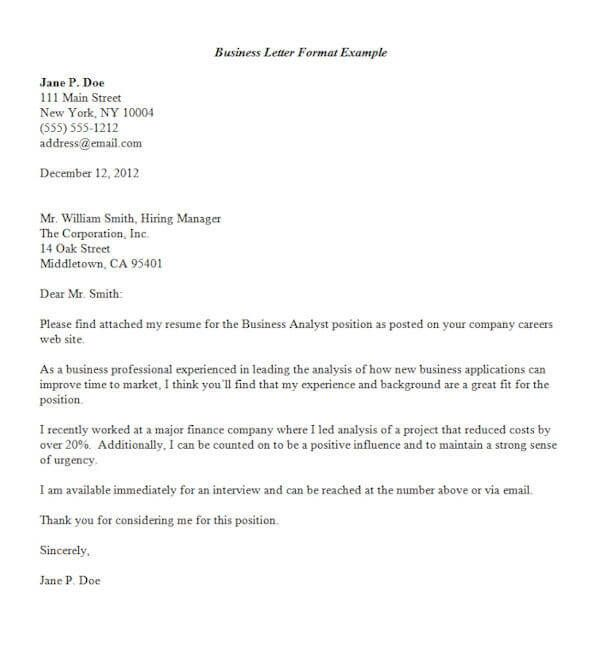 business letter format template letters inquiry example pricing - sample business letter example