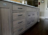 cabinet stain colors Kitchen Transitional with built-in ...