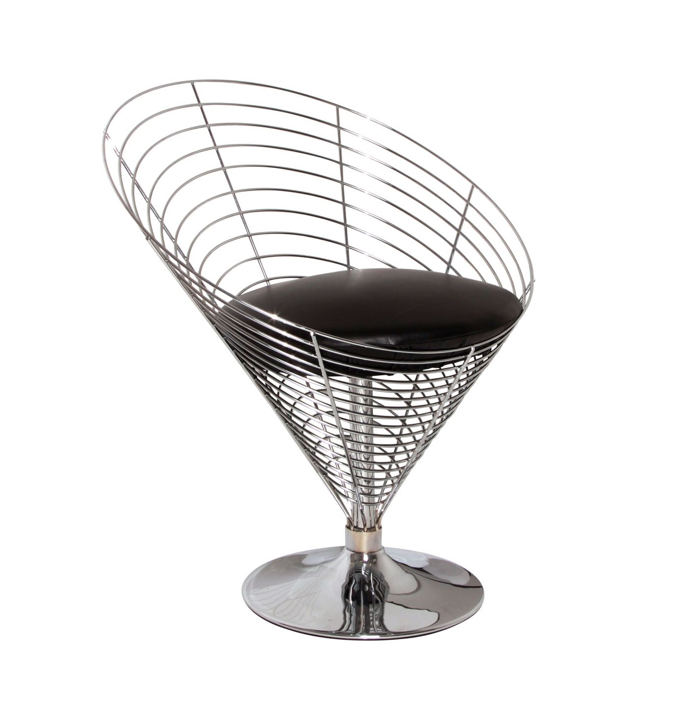 Designer Wire Chair Replica Verner Panton Wire Cone Chair By Vernon Panton