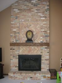 Decoration:Fireplace Designs With Brick Brick Fireplace ...