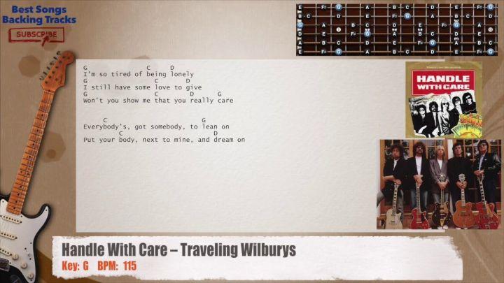 Traveling Wilburys Handle With Care Bass Tabs Joshymomo