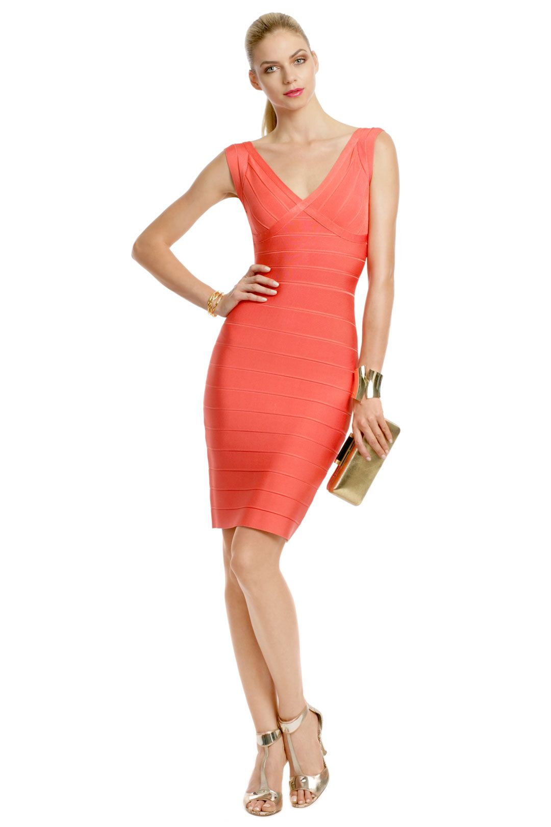 coral dresses for wedding Coral Coconut Rum Sheath