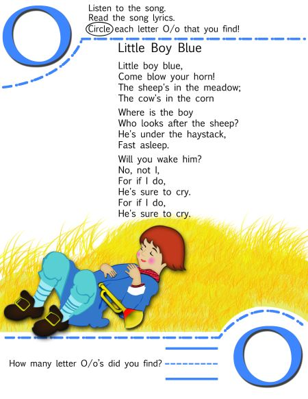 Nursery Rhyme Printable Resources