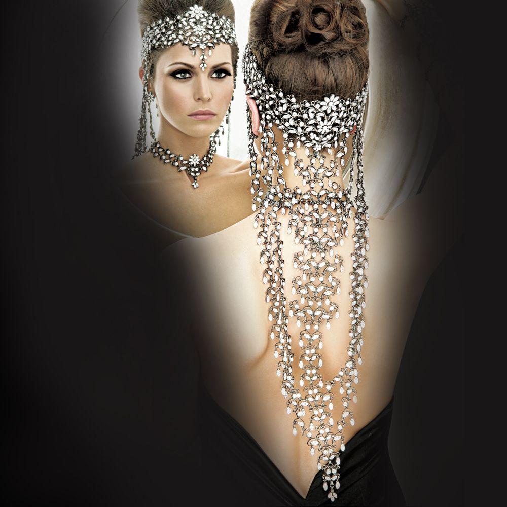 Parisian couture headpiece
