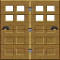 wooden doors | Minecraft | Pinterest