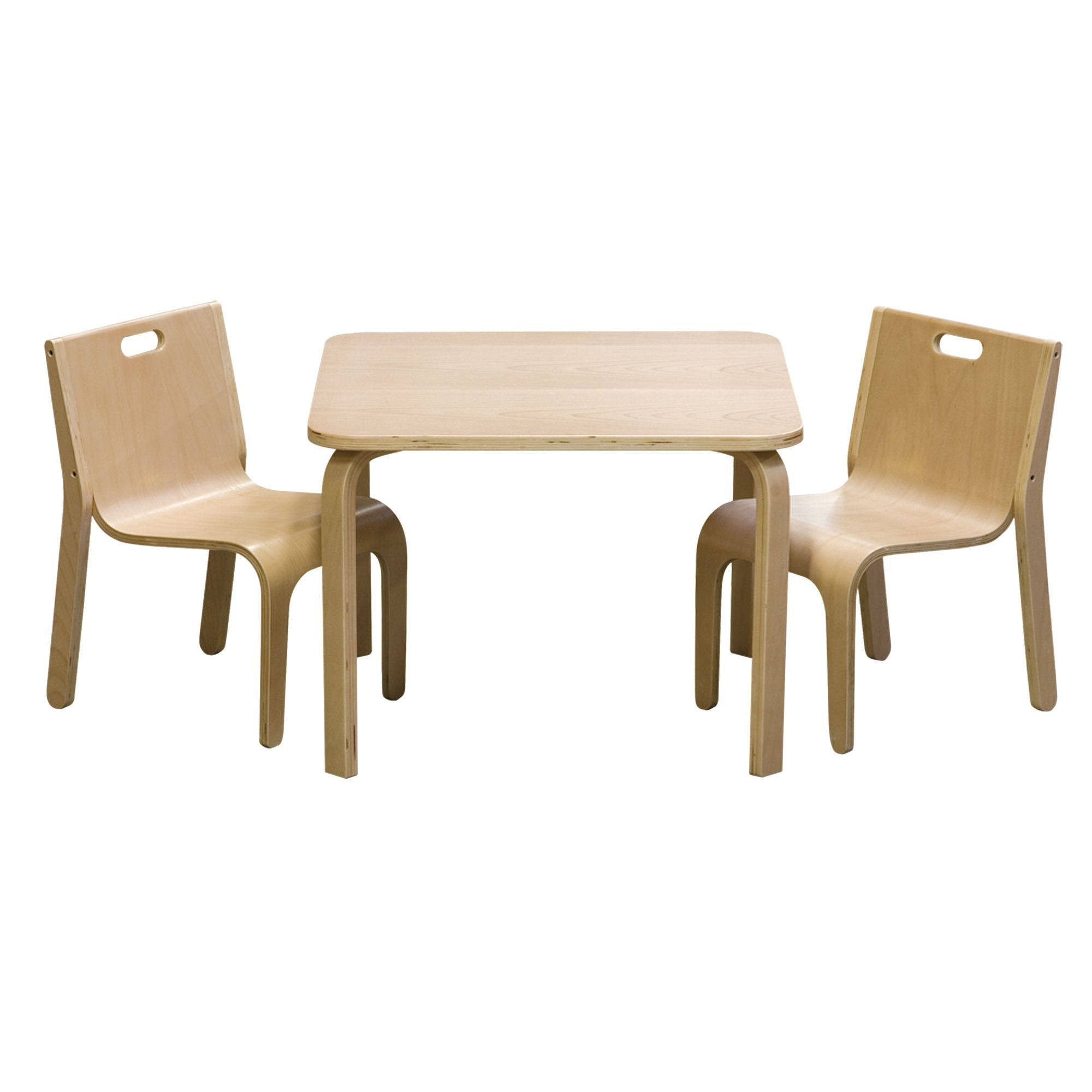 Table Et Chaise Design Set Table Et 2 Chaises Au Design Scandinave Pour Enfant