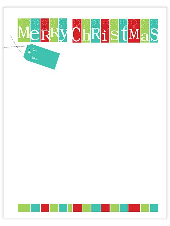 Free Christmas Letter Templates Christmas letter template - christmas letterhead templates word