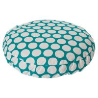 Pretty dog beds with nice patterns. Would be cute to get ...