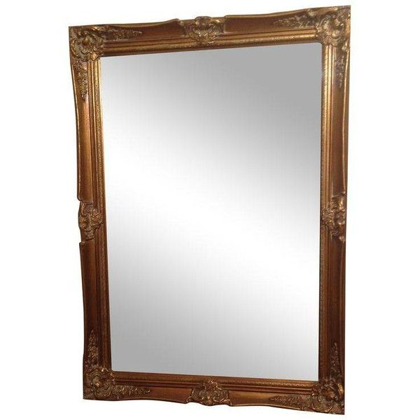 Vintage Mirror ($450) ❤ liked on Polyvore featuring home, home - home decor mirrors
