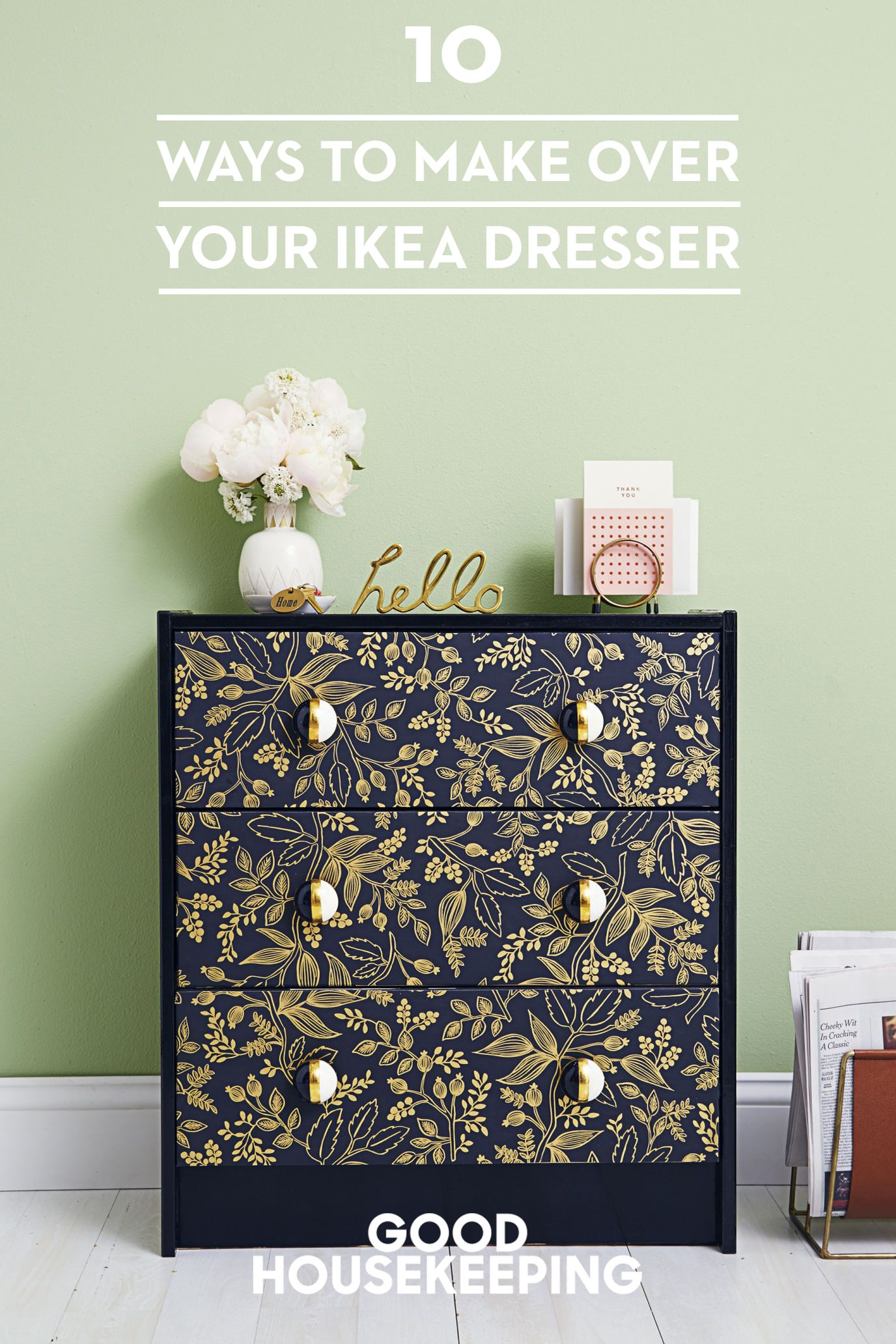 Ikea Rast Küche 10 Ways To Make Over Your Favorite Ikea Dresser Drawers