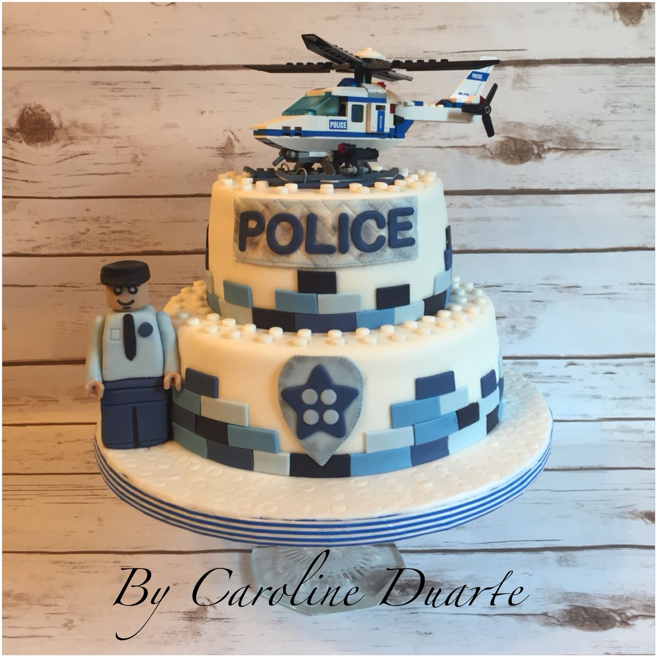 Polizei Kuchen Lego Police Cake Cakes And Treats By Caroline Duarte