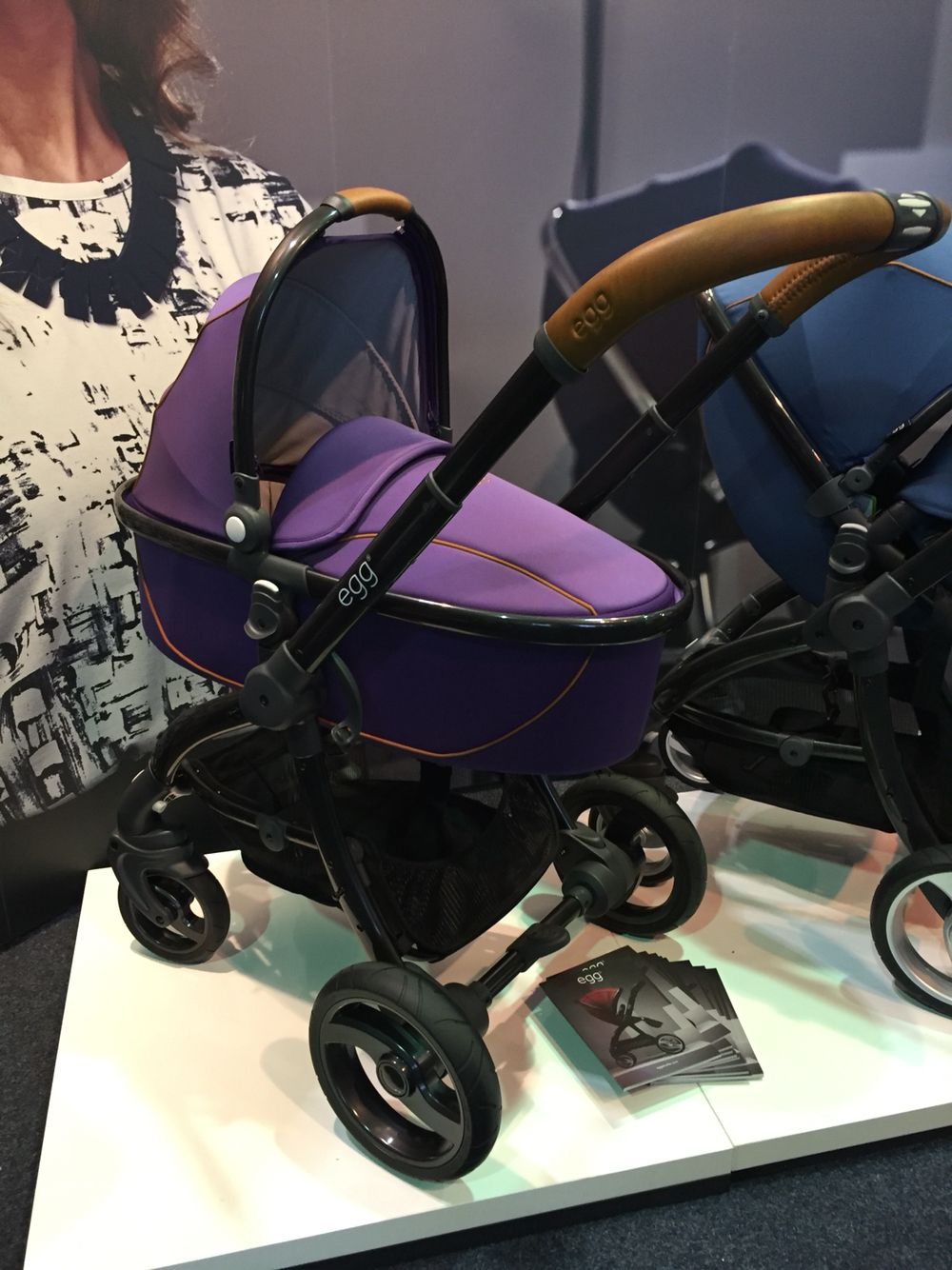 Egg Stroller Adapters Egg Stroller In Gothic Purple Available At Baby Birds