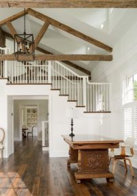 modern farmhouse new construction open staircase floorpan ...