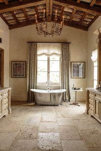 French Country Home | Flooring/Wall- stone/tile/wood ...