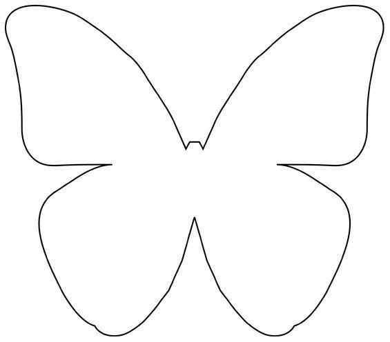 DIY Beautiful Butterfly Decoration from Templates Butterfly - butterfly template