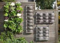 outdoor wall planters living wall ideas vertical garden ...