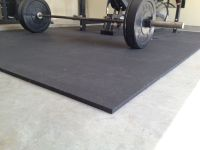 rubber gym mats for my garage gym flooring | Fitness ...