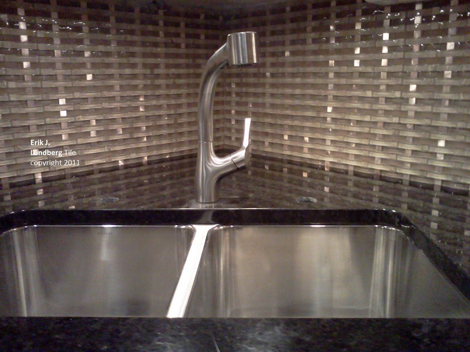 Chrome Tile Backsplash Modern Glass Backsplash Tiles Contemporary Glass Metal