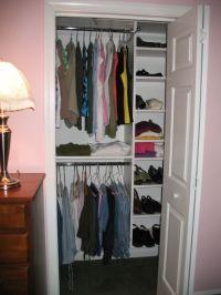 Designs for Small Closets | White Reach in ClosetsSmall ...