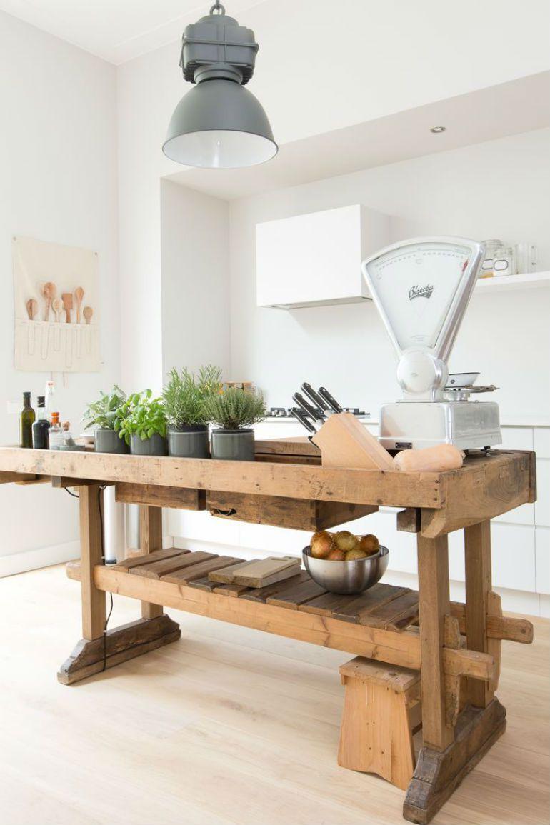 Tafel Küche Vintage