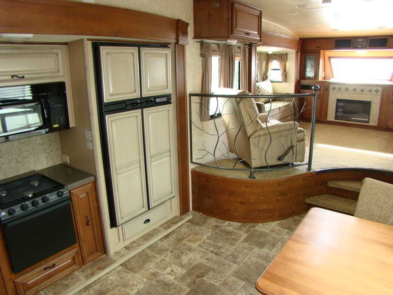 Details About Front Living Room Fifth Wheel With Iron Fence Cute - front living room fifth wheel