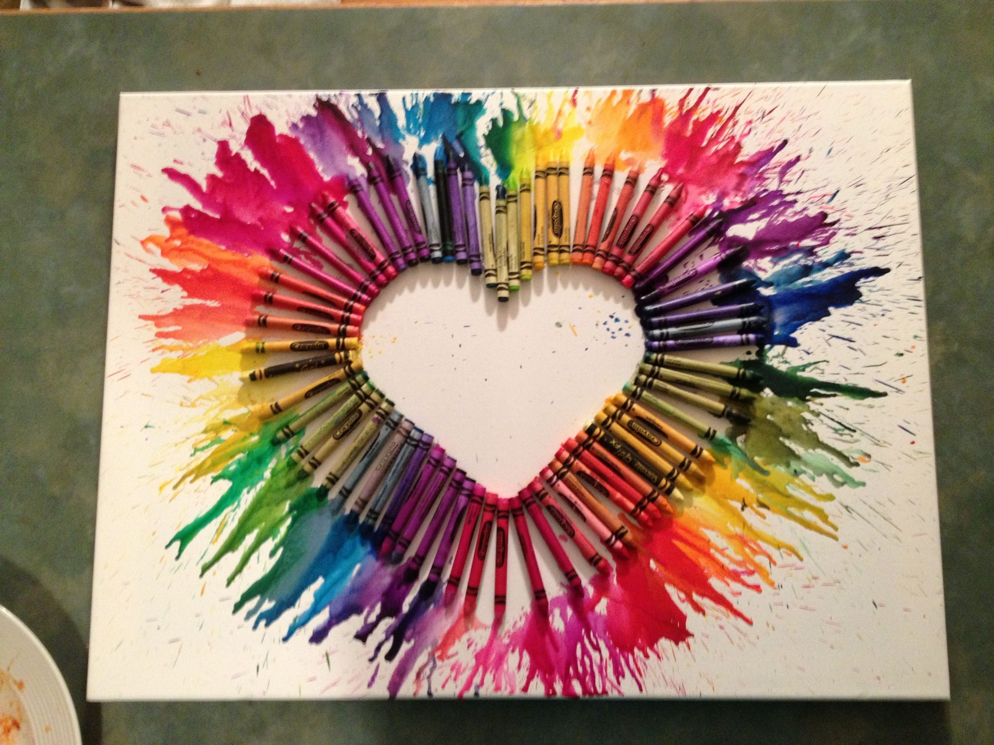 Diy Arts And Crafts Crayon Art Arts And Crafts Project Favorite Crafts