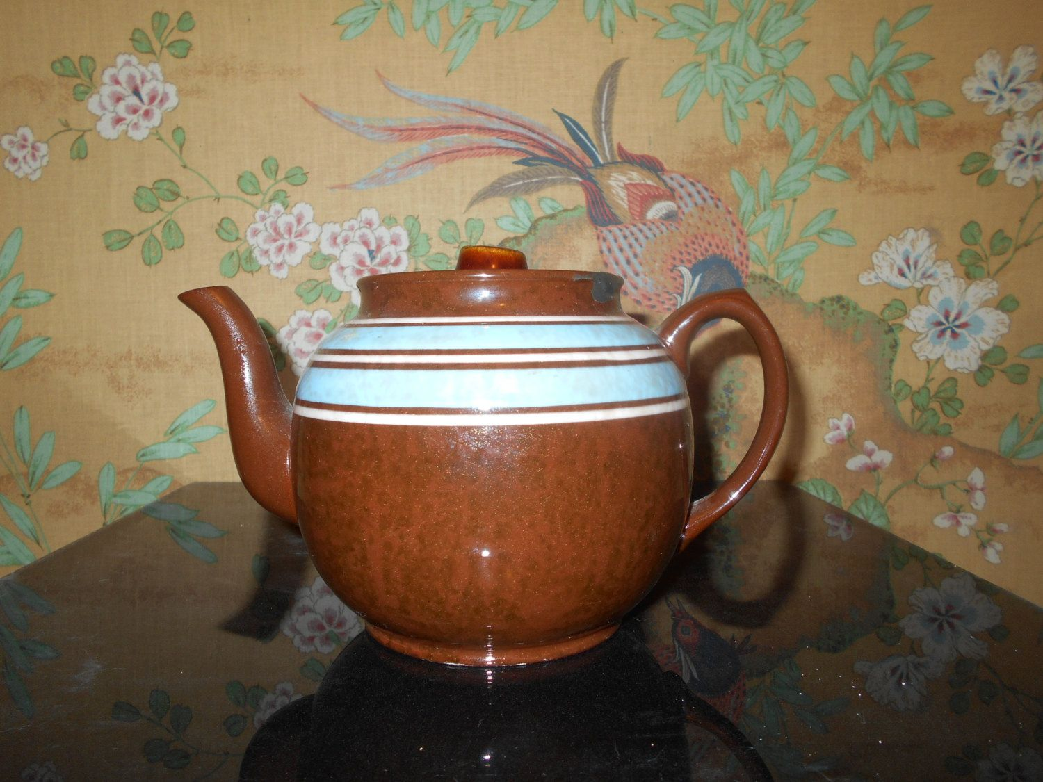 Making Tea In A Teapot Sadler Teapot Made In Staffordshire England Brown By