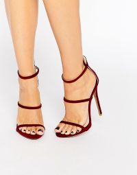 Rotating Bow Tie Watch at ASOS | Burgundy heels, Public ...