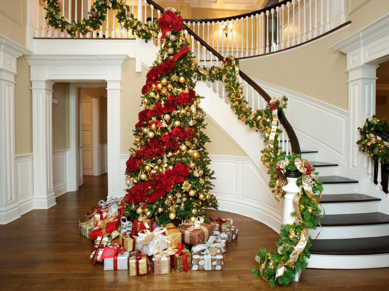 Celebrity Home Decorating Celebrity Holiday Homes Baron Holiday Decorating And