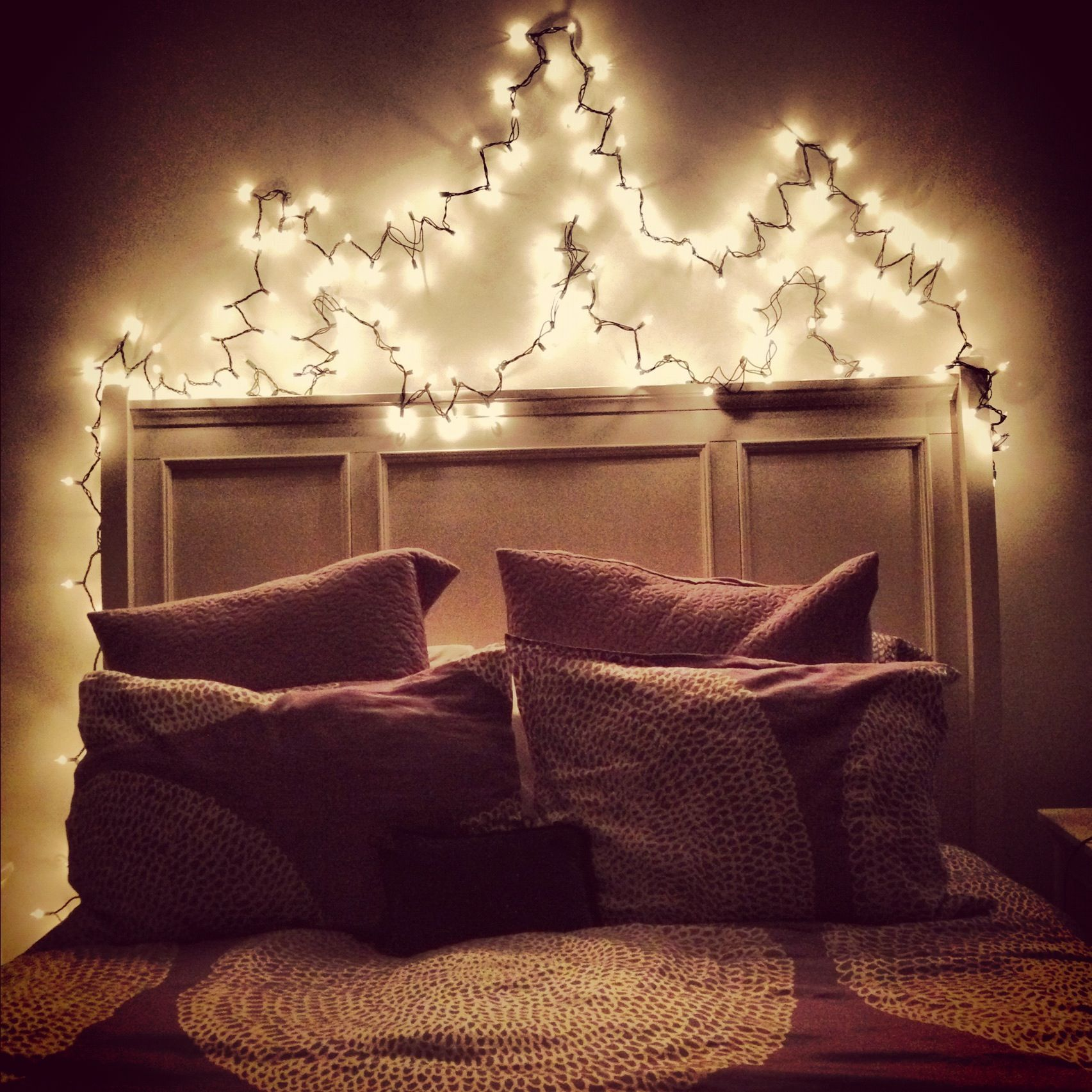 Over The Bed Light Fixtures Christmas Lights Over Your Bed I Have This And I Love It