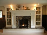raised hearth brick fireplace makeover - Google Search ...