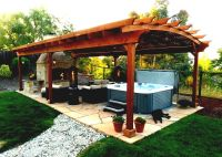 Outdoor Gazebo Designs Landscaping Ideas For Backyard ...