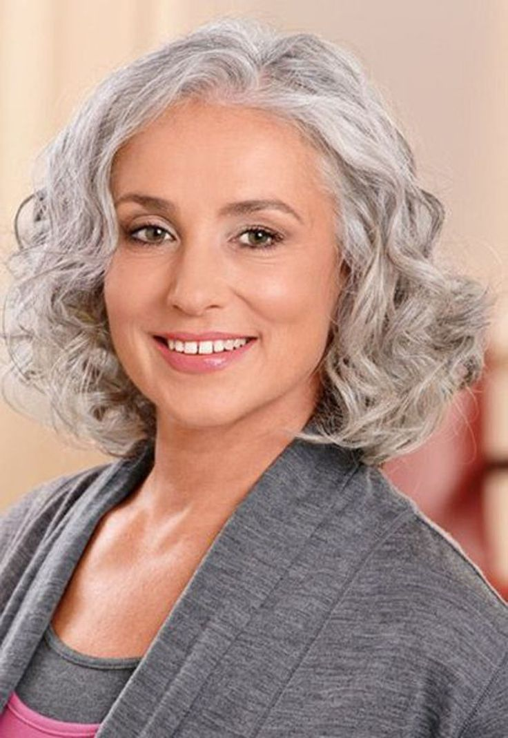 Cute short haircuts for grey hair hairstyles for short hair