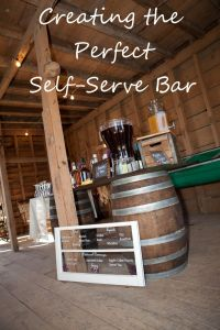 Creating a DIY Self-Serve Bar at Your Wedding or Special ...